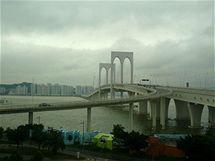 Macao - most mezi centrem a ostrovem Taipa