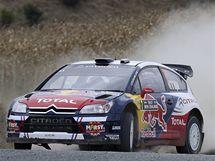 Sébastien Ogier při Novozélandské rallye