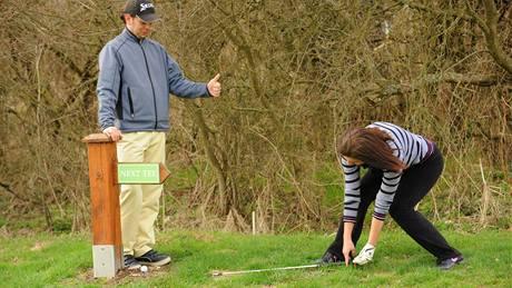 Seriál o golfových pravidlech - postup u nepohyblivé závady.