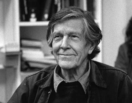 John Milton Cage (1912 – 1992) americký skladatel aleatorické experimentální hudby, spisovatel a tvůrce audiovizuálního umění.