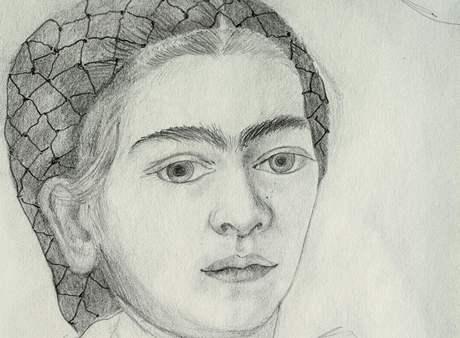 """Frida Kahlo: Autoportrét """"9. červenec 1932"""", 1932"""