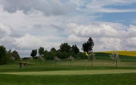 Golfové hřiště v rakouském Waidhofenu.