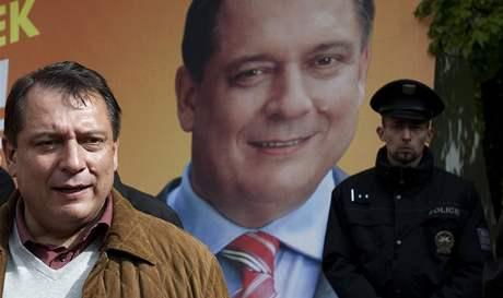 Mítink předsedy ČSSD Jiřího Paroubka v Teplicích (květen 2010)