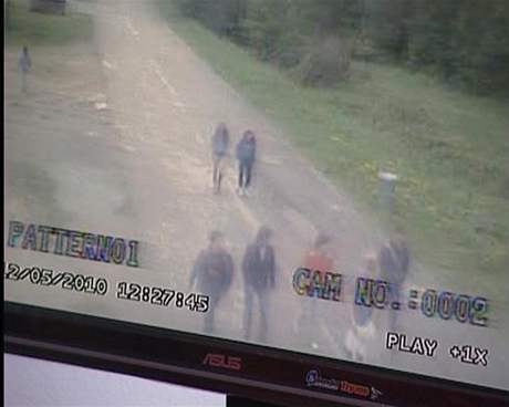 Záznam z kamery z košické zoo, který serveru SME poskytla televize Joj.