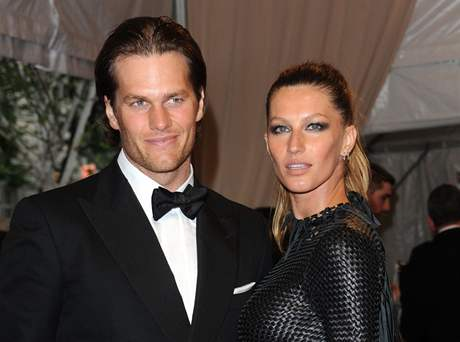 Gisele Bündchenová s manželem Tomem Bradym