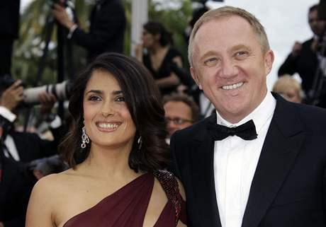 Salma Hayeková a její manžel Francois-Henri Pinault