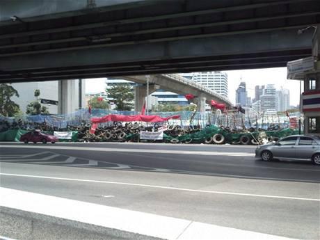 Nepokoje v Bangkoku objektivem Čecha Farouka Moheta
