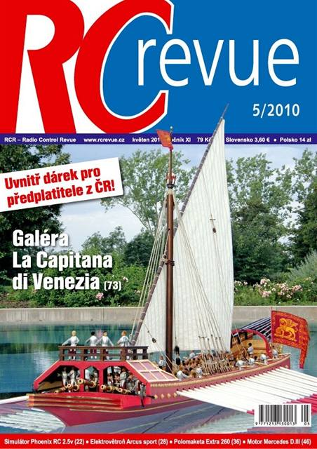 Titulka RC Revue 5/2010