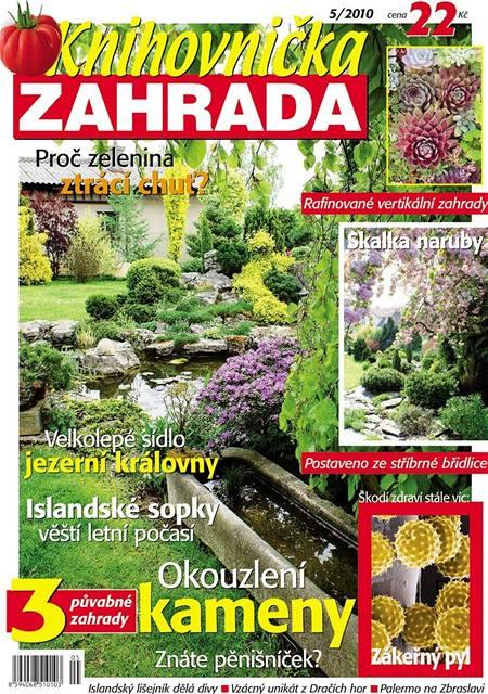 Titulka Knihovnička Zahrada květen 2010