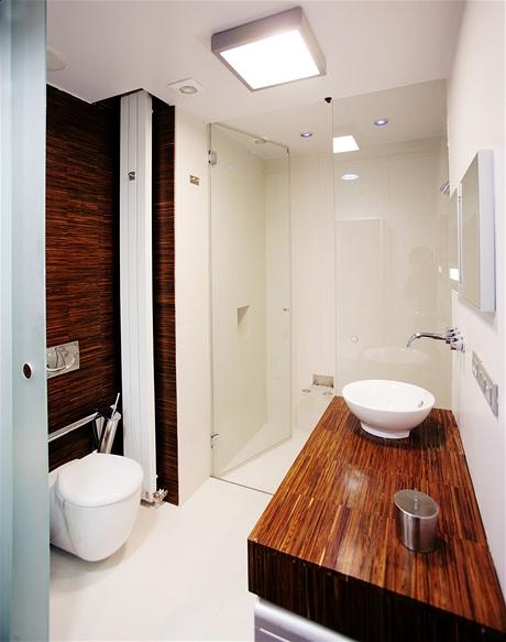 Vyzděný sprchový kout může sloužit i jako parní kabina
