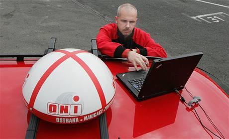 Představení bezpečnostního systému onisystem, technik Martin Vávra