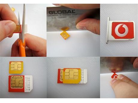 Vyroba microSIM karty