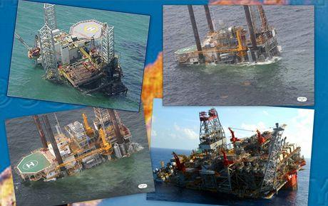 Havárie ropných plošin