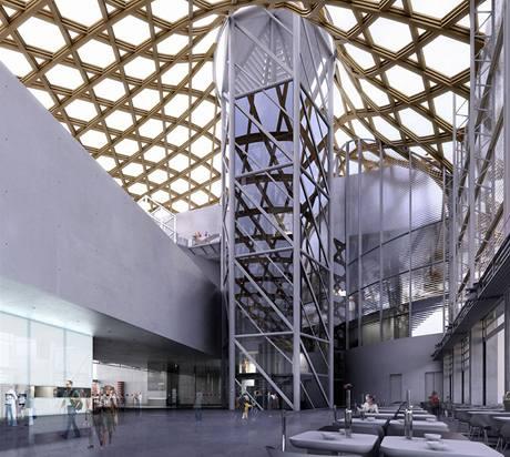 Návrh interiéru muzea