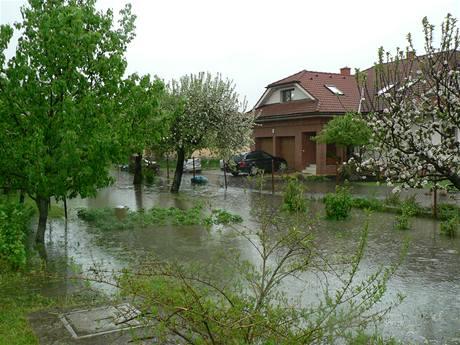 Povodně na dolní Oravě (17. května 2010)