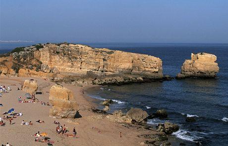 Portugalsko, Albufeira, pláž Săo Rafael