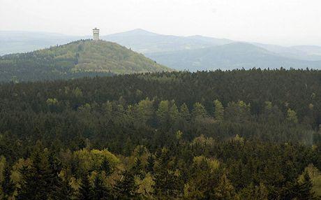 Pohled na Velký Zvon z Ebene