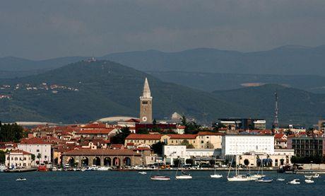 Slovinsko, pohled na Koper