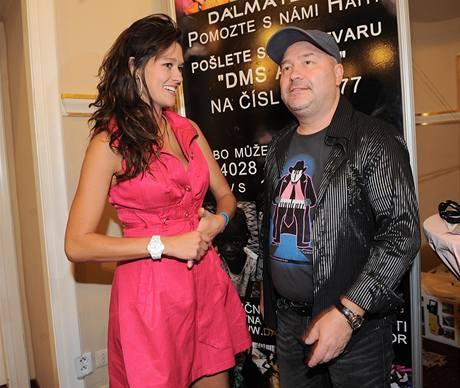 Petra Faltýnová a Michal David