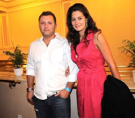 Petra Faltýnová s manželem Simonem Šteklem