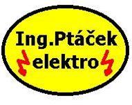 Ing. Ptáček - výroba a opravy el. zařízení logo