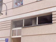 Požár v nemocnici zavinila sušička.