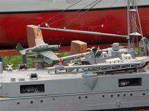 Největší bojové lodě všech dob si zaválčily na Barboře u Teplic