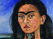 Frida Kahlo: Zlomen� p�te�, 1944