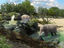 Vizualizace nového pražského slonince, který by měl být otevřen do tří let.