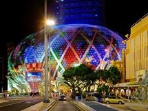 Macao, Čína, hotel a kasino Lisboa