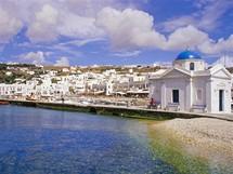 Řecko, Mykonos - přístav