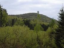 Velký Zvon z cesty Plešná
