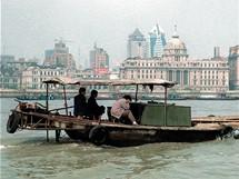 Šanghaj, za řekou Bund