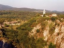 Slovinsko, dolina Škocjanských jeskyní