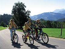 Enžská cyklostezka u Grossramingu