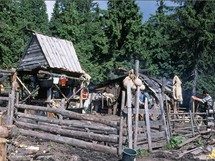 Rumunsko, salaš v pohoří Rodna