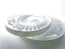 Model d�nsk�ho pavilonu pro Expo 2010 v �anghaji