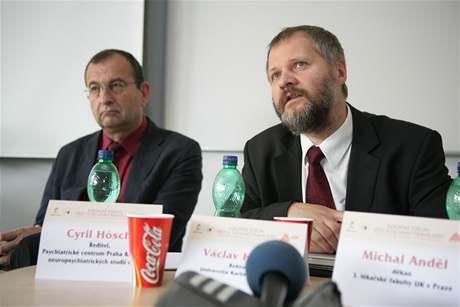 Diskuse - Cyril Höschl a Václav Hampl