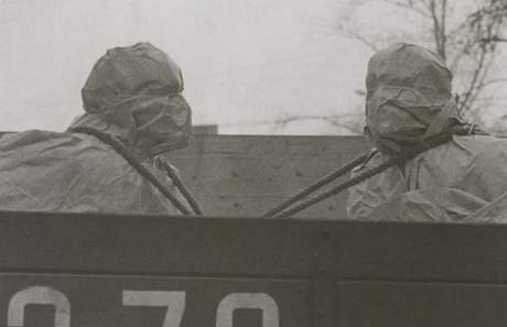 Z výstavy glasnost: Sergej Borisov - Glasnost a Perestrojka - 1986