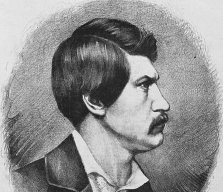 Karel Havlíček Borovský na kresbě Jana Vilímka