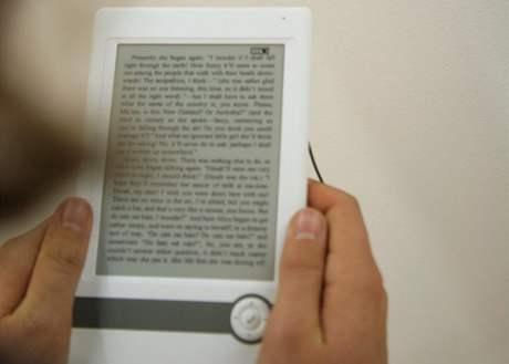Elektronika se nezbytně prosazuje i na největším knižním veletrhu ve Frankfurtu - prezentace jednoho z e-booků
