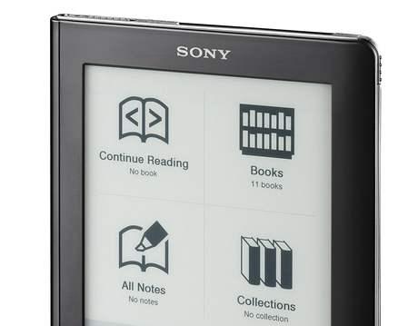 Čtečka firmy Sony