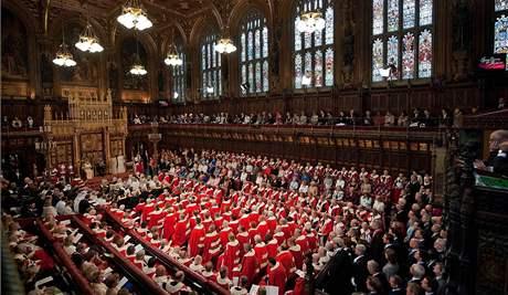 Slavnostní zahájení nového zasedacího období britského parlamentu (25. května 2010)