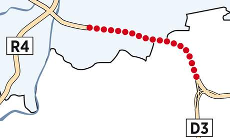 Bruslaři a cyklisté mohou vyzkoušet dvanáctikilometrový úsek Jesenice - Vestec - Točná na Pražském okruhu.