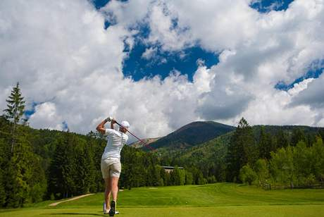 Ladies Slovak Open 2010 - golfové hřiště Tále.