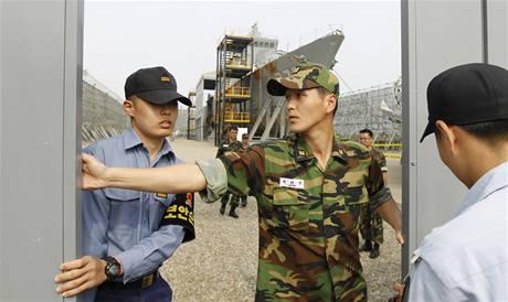 Jihokorejská korveta Čchonan, kterou potopilo torpédo KLDR (20. května 2010)