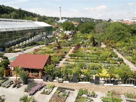 Zahradnické centrum-zahradnictví