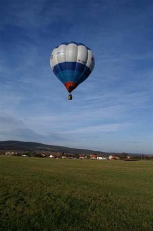 Darujte zážitek! Let balonem.