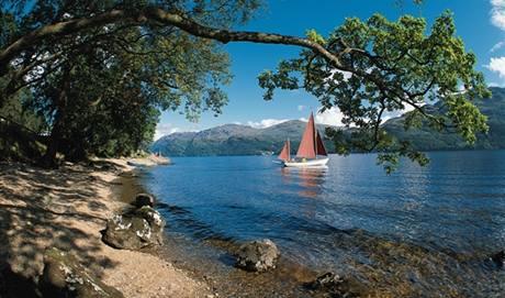 Loch Lomond, Skotsko