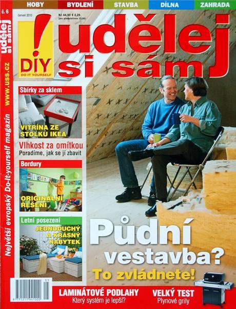 Titulka Udělej si sám 6/2010